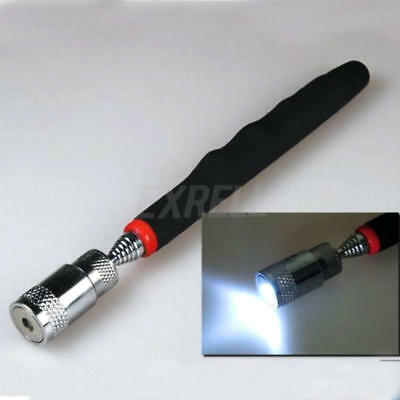 Magnetic Telescopic Extendable Pick-Up Rod Stick Handheld Tool Adjustable New