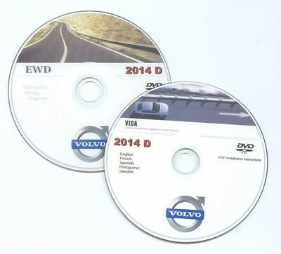 Catalogo Ricambi Volvo Vida 2014D Electronic Parts Catalogue Workshop Manual Dvd