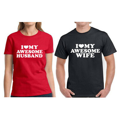 e20d083319 Couples Matching Wife and Husband Shirts Matching Couple Shirts Valentine's  Day