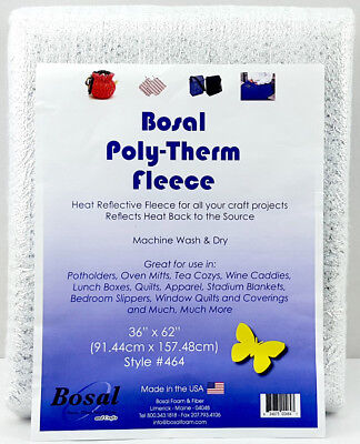 NEW   Bosal 3505-01   Poly Therm Fleece   Insulated   91.4x157.5cm   FREE POST