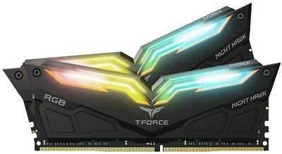 Team Night Hawk RGB 16GB (2x8GB) 3000MHz DDR4 Memory Kit