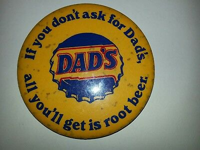 Vintage Dads Root Beer Button