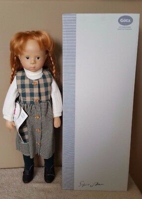 Gotz German Doll Sylvia Natterer Fanouche And Friends Adeline Red Hair