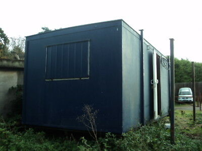 20 ft Jackleg cabin Site Office Portable Cabin and 20ft Sea Container Package