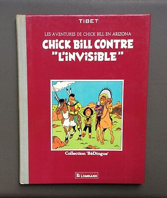 Les aventures de Chick Bill en Arizona. Chick Bill contre L'invisible. Lombard