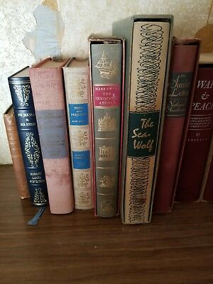 Lot of 13 ANTIQUE Hardcover Books classics Decorating VINTAGE most w/ slipcovers