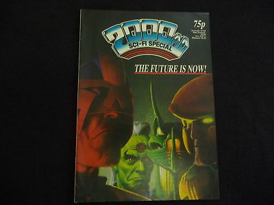 2000AD Sci-Fi Special no 10 comic (1987) VGC (LOT#1618)