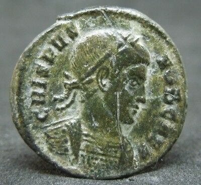 Roman coin of Crispus.