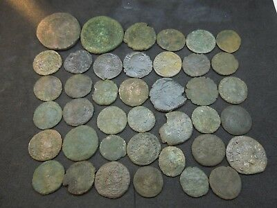 Roman coins lot of 40.