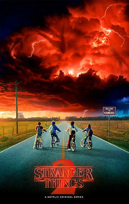"""Stranger Things 2 (11"""" x 17"""") Movie Collector's Poster Print - B2G1F"""