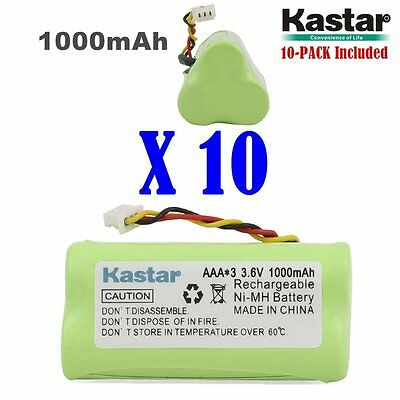 10 X Kastar Motorola Symbol LS-4278 DS-6878 Replacement Battery 1000mAh AAA 3.6v