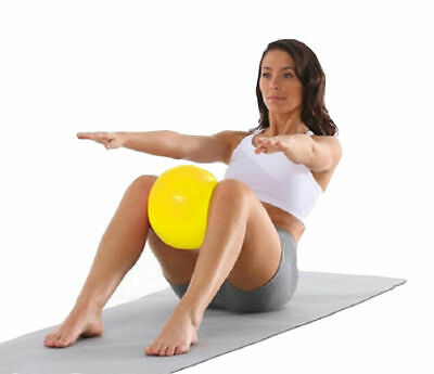 DINGEDA Gymnastik Yoga Pilates Ball Übungsball Therapieball Pilatesball Ø25cm