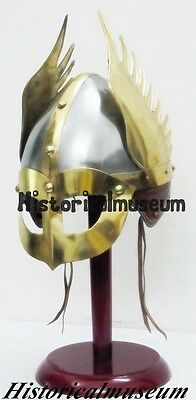 Medieval Knight Viking Armour Helmet SPARTAN Norman - Role Paly CostumeS ERT539Q