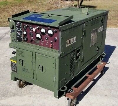 2008 Mep-803A 10Kw Diesel Generator Military 120/240 60Hz 1-3 Phase Low Hrs!!