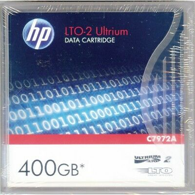 Hewlett Packard HP C7972A Ultrium  LTO-2 200GB/400GB LTO2 Data Cartridge  *NEU*