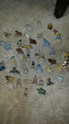 Wade Figurines Red Rose Tea Lot Of 50. Mostly Animals
