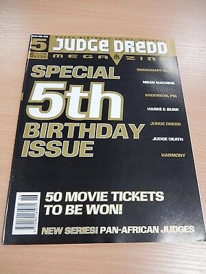 Judge Dredd Megazine  #6 Volume 3 - Sept 1995 -5th Birthday Edition