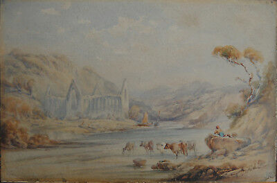 David COX British,  Snr. 1783-1859 oder Jnr. 1809-1885 sign. Aquarell