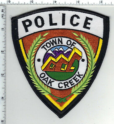 Oak Creek Police (Colorado) - Shoulder Patch - new from the 1980's