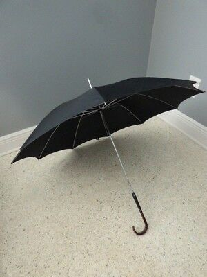 Vintage Black Umbrella Parasol