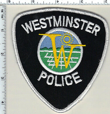 Weld County Sheriff (Colorado) Uniform Take-Off Shoulder Patch from the 1980's