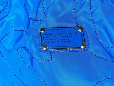 Marc by Marc Jacobs Solid Blue Tote Diaper Bag Preowned