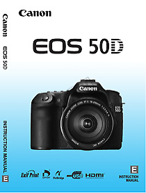 Canon EOS 50D  Instruction Owners Manual Brand New
