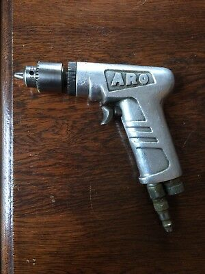 "Aro Pneumatic Drill 3/8"" Jacobs Chuck 2700 RPM (7512C) Vintage"