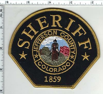 Jefferson County Sheriff (Colorado) Shoulder Patch - new from the 1980's