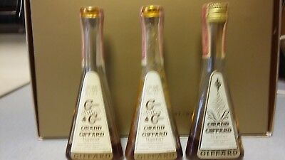 7 Vintage Italion and France liquor miniature bottles