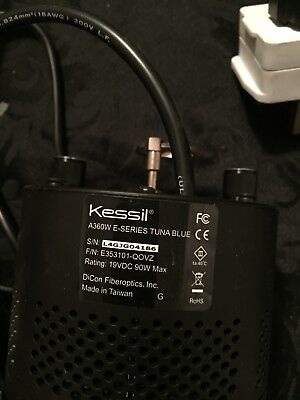 Kessil A360WE Tuna Blue LED light unit basically new marine tropical fish tank