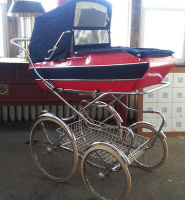 Vintage 1970's PEG PEREGO PRAM Carriage/ Stroller made in Italy