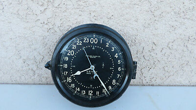 Vintage WWII U.S. Navy Chelsea with 24 Hour Dial . L@@K!!