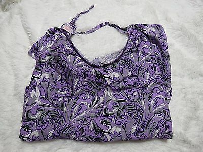 Vidder Covers For Nursing Mothers Cotton Breathable For Breastfeeding Purple