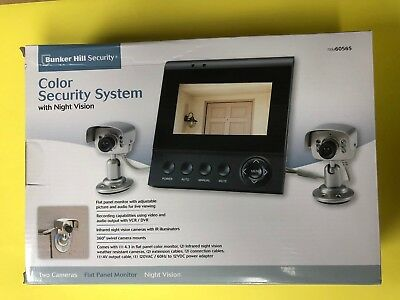 Bunker Hill 60565 Color Security System w/Night Vision 2 camera - NEW