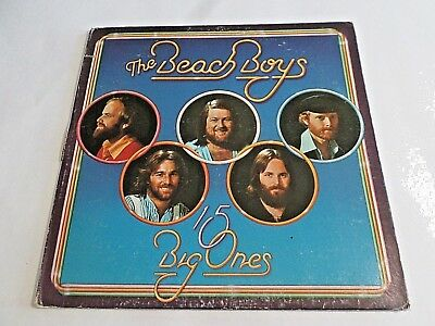 The Beach Boys 15 Big Ones LP 1976 WB Gatefold Vinyl Record
