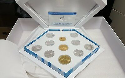 2018 Pyeongchang Winter Olympics Full 11-Coin Commemorative Coin Set GOLD
