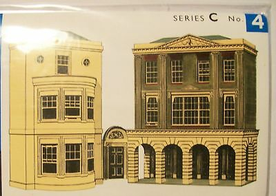 SUPERQUICK CARD KIT - **low relief Shops etc** #C4- MODEL TRAINS HO / OO SCALE