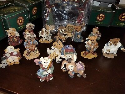 Boyd's Bears & Friends Nativity Set- 14 pieces