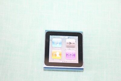 Apple iPod Nano 6th Gen. (MC689LL) Blue - Good Condition