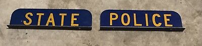 Connecticut State Police Plaques