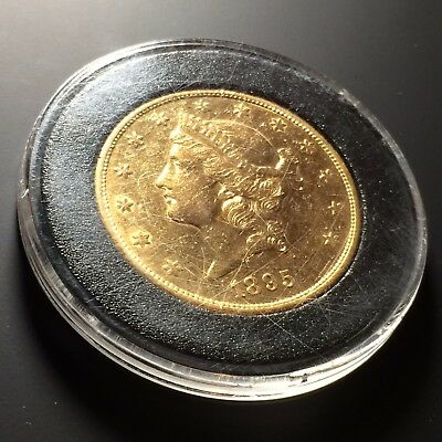 1895-S $20 Double Eagle Liberty Head Gold Coin