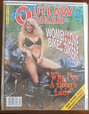 girls of outlaw biker 1991 collectors edition # 2