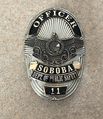 obsolete badge Soboba Public Safety Badge.