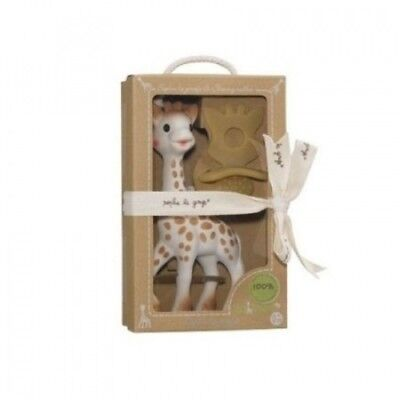 So'Pure Set and Natural Soother - Sophie the Giraffe. Vulli. Free Delivery