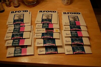 17 packs Ilford MGIV Multigrade IV RC 5 x 7 Photographic Paper Unopen