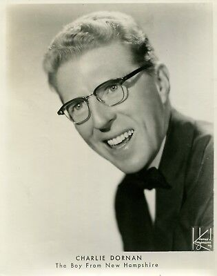 """Charlie Dornan, Entertainer """"The Boy from New Hampshire""""  Head shot (3795"""