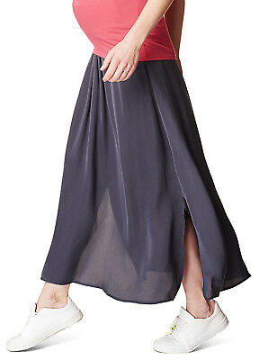 Esprit - Fluid Side Split Maternity Maxi Skirt