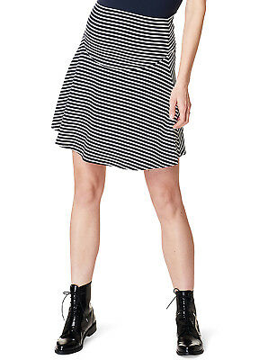 Esprit - Swirling Striped Jersey Maternity Skirt