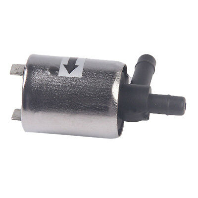 DC 12V Mini Solenoid Valve Metal Shell for Gas Water Air Normally Closed N/C